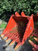 BRAND NEW 21 TON RIDDLE BUCKET, 80MM PINS, 51 INCH WIDE BUCKET, CHOICE OF 5 *PLUS VAT*