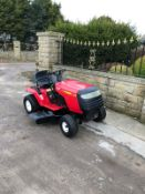 RALLY RIDE ON LAWN MOWER, HYDROSTATIC DRIVE, RUNS, WORKS AND CUTS *NO VAT*