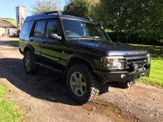 2004/04 REG LAND ROVER DISCOVERY ES PREMIUM TD5 AUTOMATIC, SHOWING 2 FORMER KEEPERS *NO VAT*
