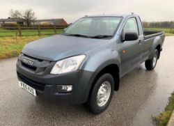 2015 ISUZU D-MAX S/C TWIN TURBO 4X4 TD 2.5 DIESEL PICK-UP, NEW MICRO DIGGERS, MOWERS, TRACTORS, WHEEL LOADERS, FORKLIFTS ETC ENDS 2PM TODAY