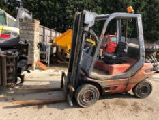 LANSING LINDE H25D 1994 FORKLIFT, SHOWING 394 HOURS (UNVERIFIED) *PLUS VAT*