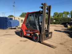 1996 LINDE H60 6 TON DIESEL FORKLIFT, MACHINE NOT RUNNING *PLUS VAT*