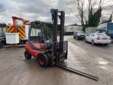 1996 LINDE H20D DIESEL FORKLIFT, PERKINS DIESEL ENGINE, RUNS AND OPERATES AS IT SHOULD *PLUS VAT*