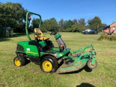 JOHN DEERE 1445 SERIES II 4WD RIDE ON DIESEL LAWN MOWER C/W OUT-FRONT ROTARY CUTTING DECK *PLUS VAT*