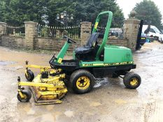 JOHN DEERE F1145 RIDE ON LAWN MOWER 4WD, ROTARY DECK, RUNS, WORKS AND CUTS *NO VAT*