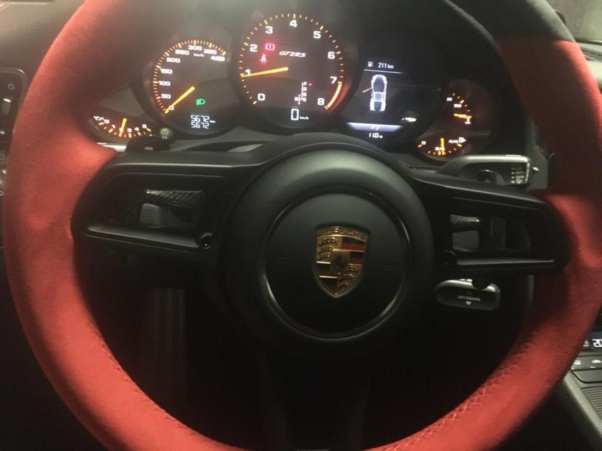 Lot 4 - 2018 PORSCHE GT2 RS LHD