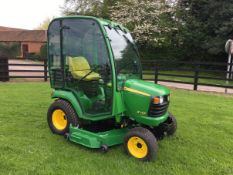 2011 JOHN DEERE X748 RIDE ON MOWER