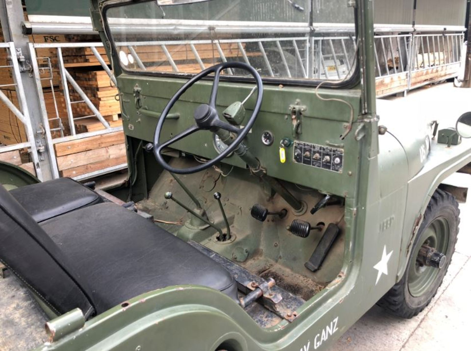 Lot 406 - WILLYS JEEP CJ6 YEAR 1964, RIGHT HAND DRIVE, ONLY 26751 MILES *PLUS VAT*