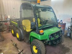 2012/62 REG JOHN DEERE GATOR 6X4 ELECTRIC TIP, FULL CAB, DIESEL - EX COUNCIL *PLUS VAT*