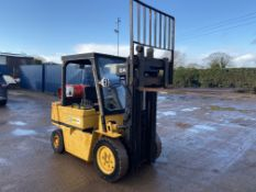 CAT V50D GAS FORKLIFT, CONTAINER SPEC MAST, 4 METER LIFT HEIGHT, ORIGINAL CONDITION *PLUS VAT*