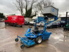 BCS 103 HIGH DISCHARGE RIDE ON LAWN MOWER, YEAR 2000, RUNS & HYDRAULICS WORK BUT NO DRIVE *PLUS VAT*