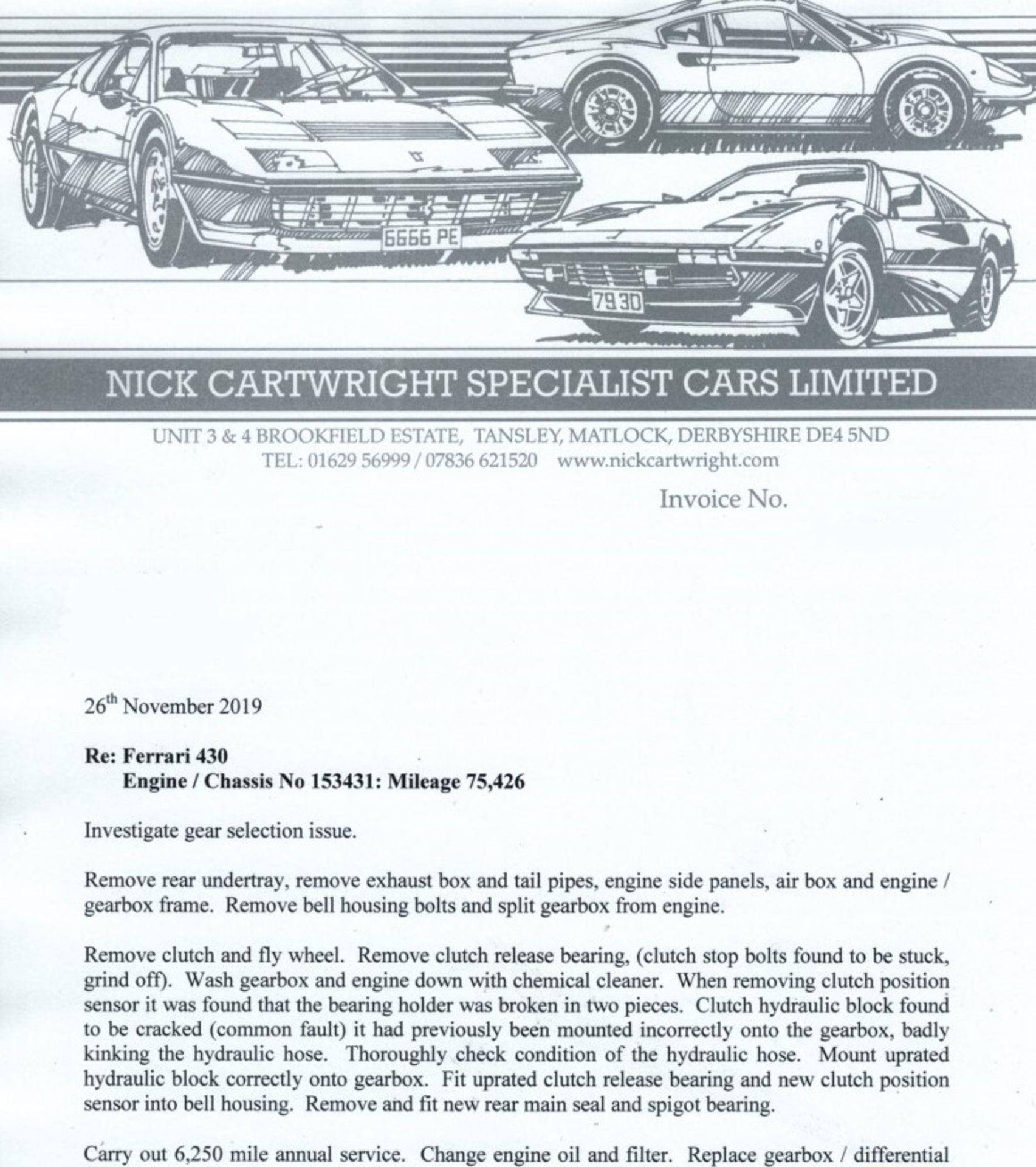Lot 5 - 2007/56 Reg Left Hand Drive Ferrari F430 Coupe 4.3L V8 in Nero Daytona *NO VAT*