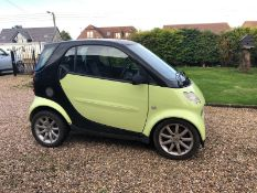 2003/53 REG SMART CITY PULSE 61 AUTOMATIC 700CC PETROL COUPE *NO VAT*