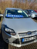 2013/62 REG FORD FOCUS ZETEC ECONETIC TDCI 1.6 DIESEL ESTATE, SHOWING 2 FORMER KEEPERS *NO VAT*