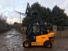 JCB TLT 30 TELETRUK, YEAR 2014, POWER 35.6 KW, WEIGHT 4900 KG, RUNS, WORKS AND LIFTS *PLUS VAT*