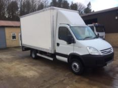2009/59 REG IVECO DAILY 65C18 BOX VAN WITH TAIL LIFT EX COUNCIL 6500 KG 3.0 DIESEL *PLUS VAT*