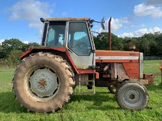 1985/C REG MASSEY FERGUSON 698T TRACTOR, REVERSING CAMERA, CAB HEATER, RUNS AND WORKS *PLUS VAT*