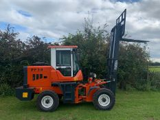 BRAND NEW 2019 POWERFUL PF30 4X4 ROUGH TERRAIN POWERFUL FORKLIFT C/W 2 STAGE MAST *PLUS VAT*