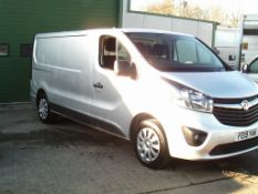 2019/19 REG VAUXHALL VIVARO 2900 SPORTIVE LWB CDTI 1.6 DIESEL PANEL VAN, SHOWING 0 FORMER KEEPERS