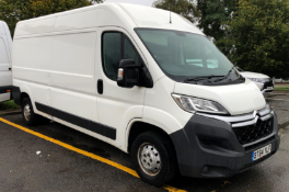 2014/64 REG CITROEN RELAY ENTERPRISE 35 L3H2 ENTERPRISE DIESEL, SHOWING 0 FORMER KEEPERS - AIR CON!