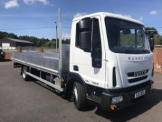 2013/13 REG IVECO EUROCARGO 75E16 20FT ALLOY DROPSIDE TRUCK NEW BODY 7.5T AUTO BOX *PLUS VAT*