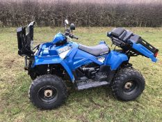 POLARIS SPORTSMAN UTE 570 EFI QUADBIKE, YEAR 2015, ONLY 131 HOURS, ROAD REGISTERED *NO VAT*