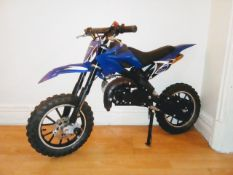 BLUE 49CC ORION SCRAMBLER *NO VAT*