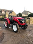 NEW / UNUSED ZOOM 604WD TRACTOR, YEAR 2019, RUNS, WORKS AND DRIVES, 3 POINT LINKAGE, REAR PTO