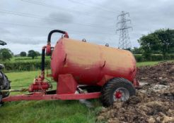 VACUUM TANKER SLURRY TANKER, WORKS WELL, COMES WITH PIPE *NO VAT*