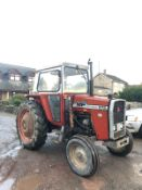 MASSEY FERGUSON 575 TRACTOR RUNS, WORKS AND DRIVES, GOOD TYRES, FULL CAB *PLUS VAT*