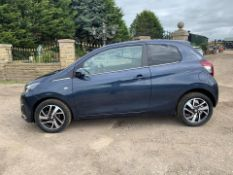 2015/65 REG PEUGEOT 108 ALLURE 1.2 PETROL 3 DOOR HATCHBACK BLUE, SHOWING 1 FORMER KEEPER *NO VAT*