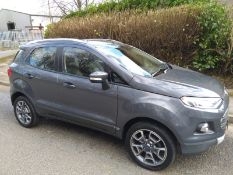 2015/15 REG FORD ECOSPORT TITANIUM X-PACK TURBO 998CC PETROL, SHOWING 1 FORMER KEEPER *NO VAT*
