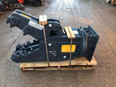 MUSTANG RH05 HYDRAULIC ROTATING PULVERISER, YEAR 2019, NEW & UNUSED, 8-12 TON EXCAVATOR *PLUS VAT*