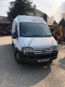 DOG WASH VAN - 2005 REG CITROEN RELAY 1800 TD HDI LWB MOBILE DOG VAN, SHOWER TUB ETC *PLUS VAT*