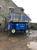UPRIGHT X27RT 4X4 SCISSOR LIFT, RUNS AND WORKS WELL, 4 WHEEL DRIVE, YEAR 2008 *PLUS VAT*
