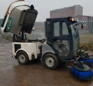 DA - 2008/59 REG HAKO CITYMASTER 1200 ROAD SWEEPER, RUNS AND WORKS - EX COUNCIL *NO VAT*