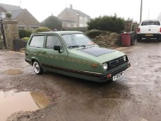 NEW MOT! 1988/F REG RELIANT RIALTO ESTATE SE 850CC PETROL GREEN 3 WHEELER *NO VAT*