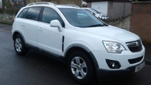 2013/63 REG VAUXHALL ANTARA EXCLUSIVE CDTI S/S 2.2 DIESEL 5DR, SHOWING 2 FORMER KEEPERS *NO VAT*