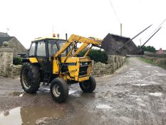 CASE INTERNATIONAL 1394 LOADER TRACTOR, RUNS AND WORKS WELL, 3 POINT LINKAGE, PTO WORKING, 774 HOURS