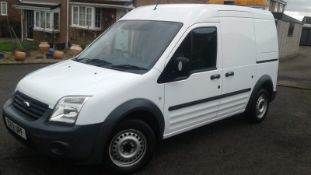 2012/12 REG FORD TRANSIT CONNECT 90 T230 1.8 DIESEL PANEL VAN, SHOWING 0 FORMER KEEPERS *NO VAT*