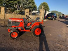 KUBOTA B1410 COMPACT TRACTOR, RUNS, WORKS AND DRIVES, 4 WHEEL DRIVE *PLUS VAT*