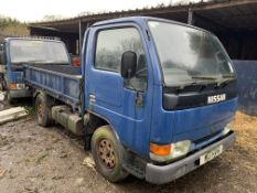 2 x NISSAN CABSTAR TIPPER AND DROPSIDE