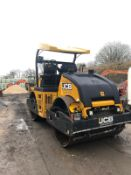 JCB VMT860 9 TON RIDE ON TWIN DRUM ROLLER, YEAR 2011, RUNS, WORKS AND VIBRATES *PLUS VAT*