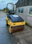 BOMAG ROLLER DOUBLE DRUM, MODEL: BW120 AD-4, YEAR 2008 *PLUS VAT*