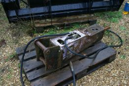 PRO DEM HYDRAULIC BREAKER ATTACHMENT, BELIEVED TO BE 2005 & CAME OFF 5 TON MACHINE *PLUS VAT*