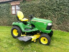 JOHN DEERE X748, 4 WHEEL DRIVE, HYDROSTATIC DRIVE, ONLY 699 HOURS, IMMACULATE CONDITION *PLUS VAT*