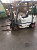 FIAT D20 FORKLIFT WITH SIDE SHIFT, 3 STAGE MAST, 2000 KG CAPACITY, YEAR 1995 *NO VAT*