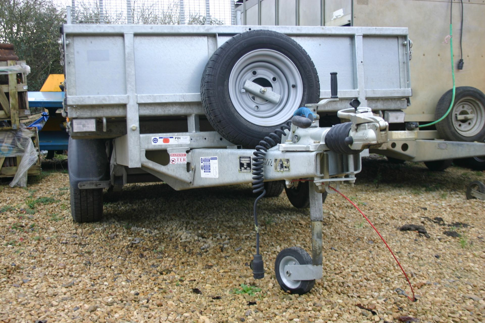 Lot 109 - 2018 IFOR WILLIAMS LM105G TWIN AXLE PLANT TRAILER 2700 KG C/W REAR RAMP *PLUS VAT*