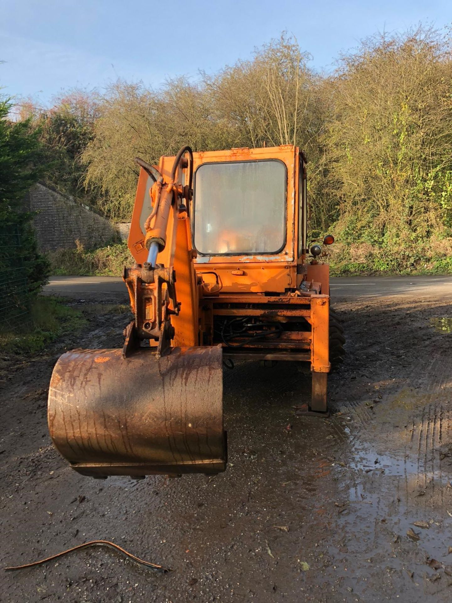 Lot 151 - KUBOTA RW25 4X4 BACKHOE DIGGER C/W 1 X REAR BUCKET *PLUS VAT*