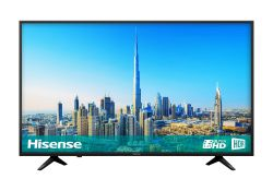 HISENSE 43-INCH 4K ULTRA HD HDR SMART TV C/W POWER CABLE & REMOTE, IN PERFECT WORKING ORDER *NO VAT*